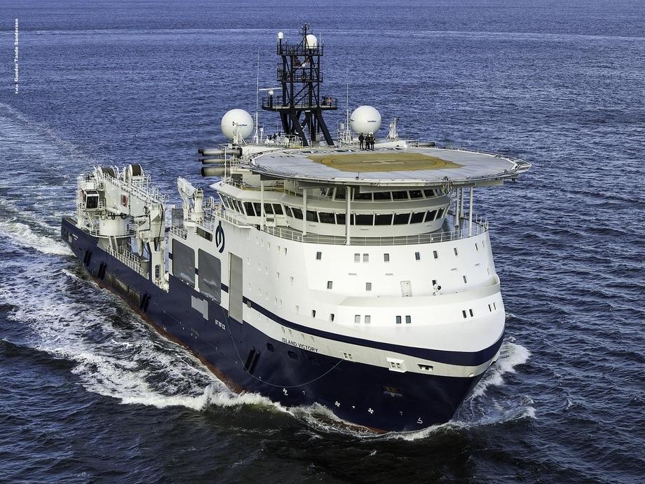 Island Offshore har overtatt «Island Victory». Foto: Gunder Tande Sandersen