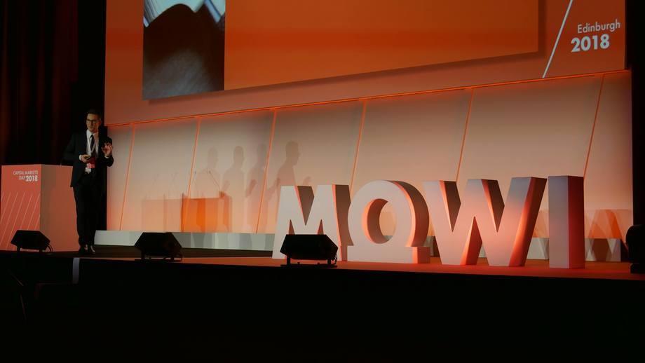 La empresa mantiene la orientación de cosecha para 2020 en 450.000 toneladas. Imagen: Mowi.