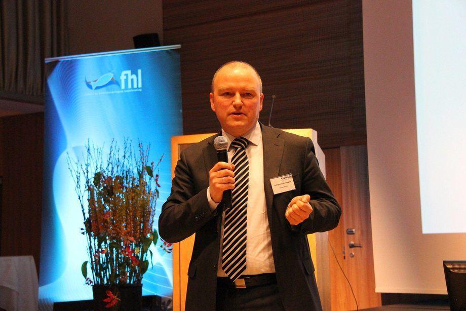 Kolbjørn Giskeødegård, analista de salmón en Nordea Markets, cree que el Coronavirus sólo intensificó los reveses en los mercados que de todos modos habían llegado. Foto: Kyst.no/Norsk Fiskeoppdrett.