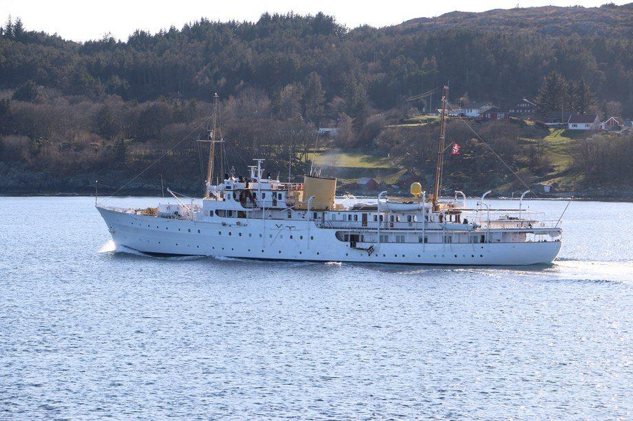 Endúr Maritime har vunnet kontrakten om å vedlikeholde Kongeskipet «Norge». Foto: Helge Martin Markussen