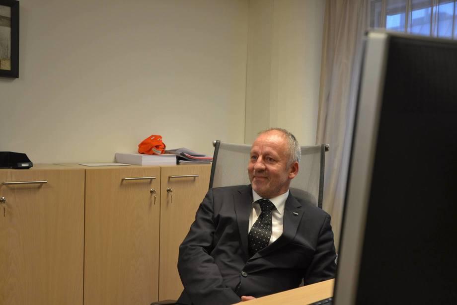 El ministro de Pesca y Productos del Mar, Geir Inge Sivertsen, ha sido denunciado a la policía por fraude. Foto: Harrieth Lundberg.