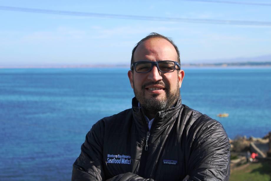 Rolando Ibarra se integrará a la ONG internacional Monterey Bay Aquarium. Foto: SalmonChile.