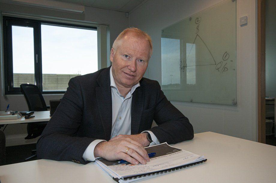 Knut Nesse, CEO de AKVA group. Foto: Pål Mugaas.