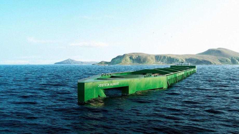 Havfarm 1 tendrá una capacidad para producir 10 mil toneladas de salmón. Imagen: Nordlaks.