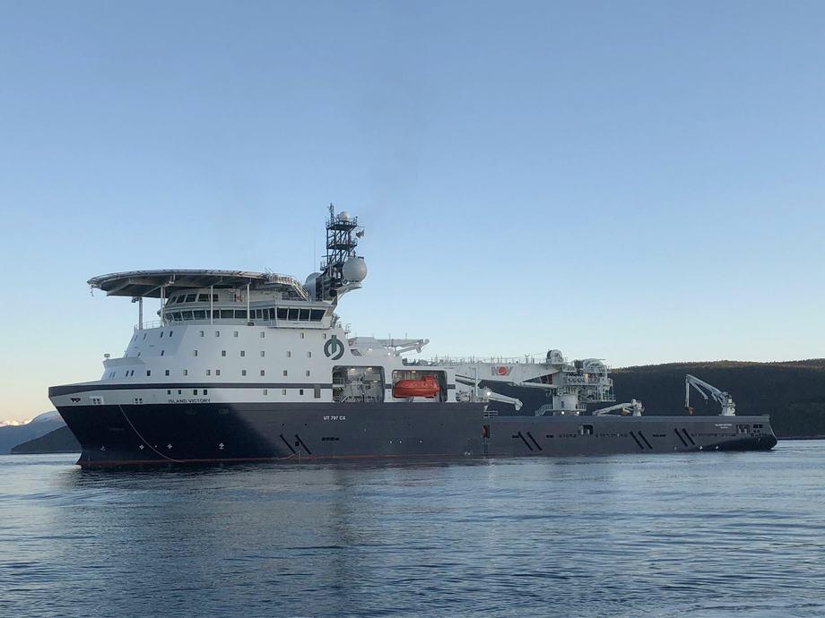 Kraftpluggen «Island Victory» er levert til Island Offshore. Foto: Island Offshore