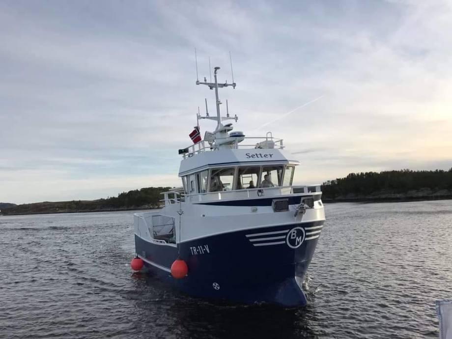 MS «Setter» ble i februar levert til Helge Johansen. Foto: Båt Og Motorservice