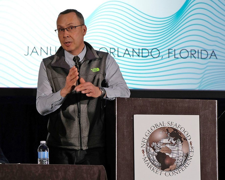 James Griffin, director ejecutivo del Chilean Salmon Marketing Council. Foto: CSMC.