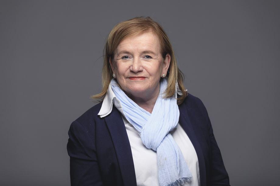 Kristin Pettersen skifter jobb fra markedsdirektør i Sjømatrådet til å bli den neste fiskeriutsendingen til Tyskland. Marius Fiskum / Norges sjømatråd.