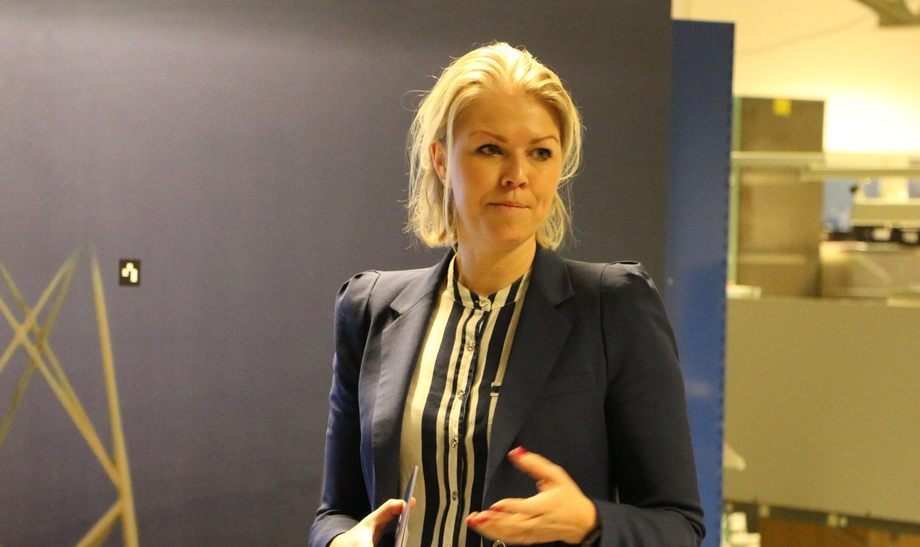 Daglig leder i Maritime Bergen, Siv Remøy-Vangen er ikke storfornøyd med dagens krisepakke. Foto: Margarita Savinova