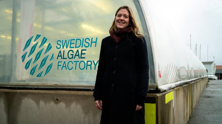 Sophie Allert, Swedish Algae Factory chief executive and co-founder. All photos: Swedish Algae Factory.