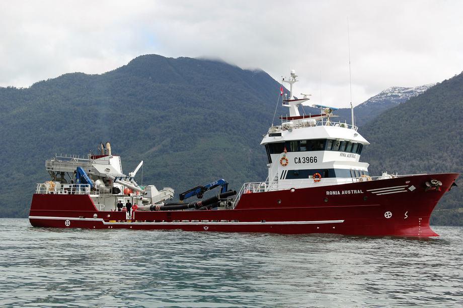 Las empresas de wellboats también han implementado medidas de seguridad. Foto: Archivo Salmonexpert.