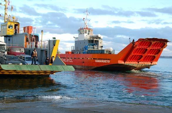 La barrera sanitaria se implementaría en tres puntos de acceso, como el Canal de Chacao. Foto: Archivo Salmonexpert.