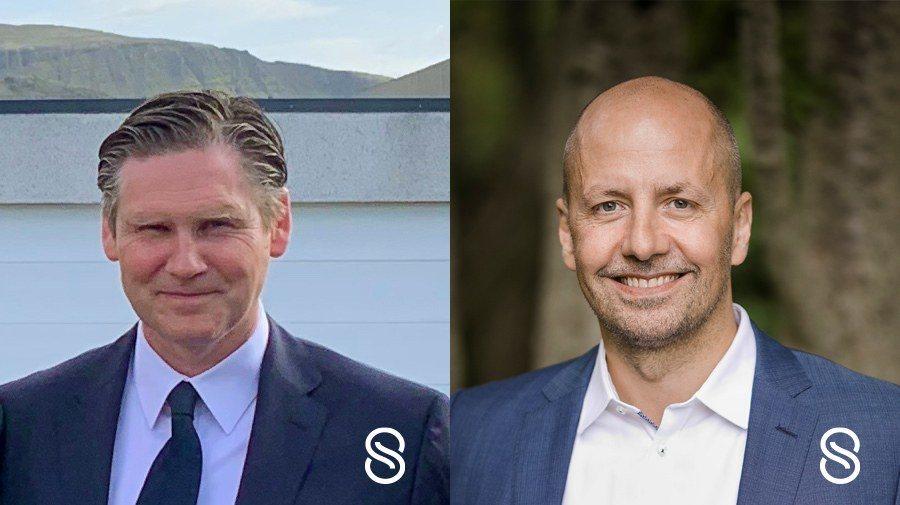 Skaginn 3X has appointed Ingvar Vilhjálmsson, left, and Ágúst Ágústsson. Photo: Skaginn 3X.