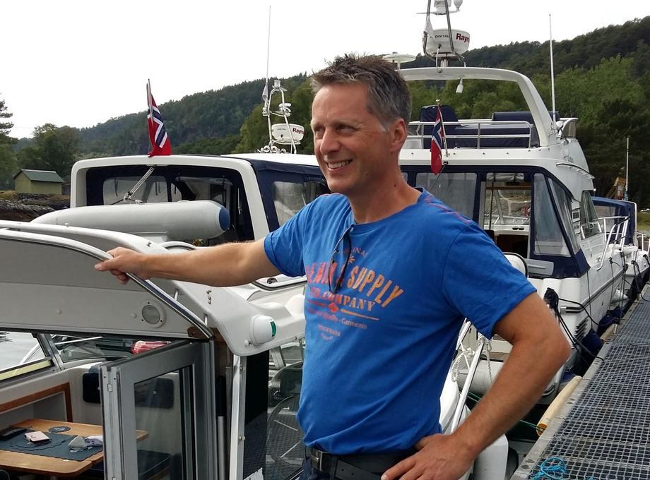 50 år gamle Bjarne Rygg går fra Brødrene Aa til Hurtigbåtforbundet. Foto: Privat