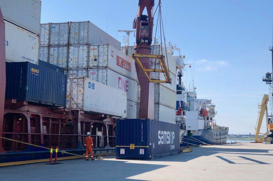 Kuystverket innfører ny digital kommunikasjonsmulighet for havner i SafeSeaNet. Foto: Kystverket.