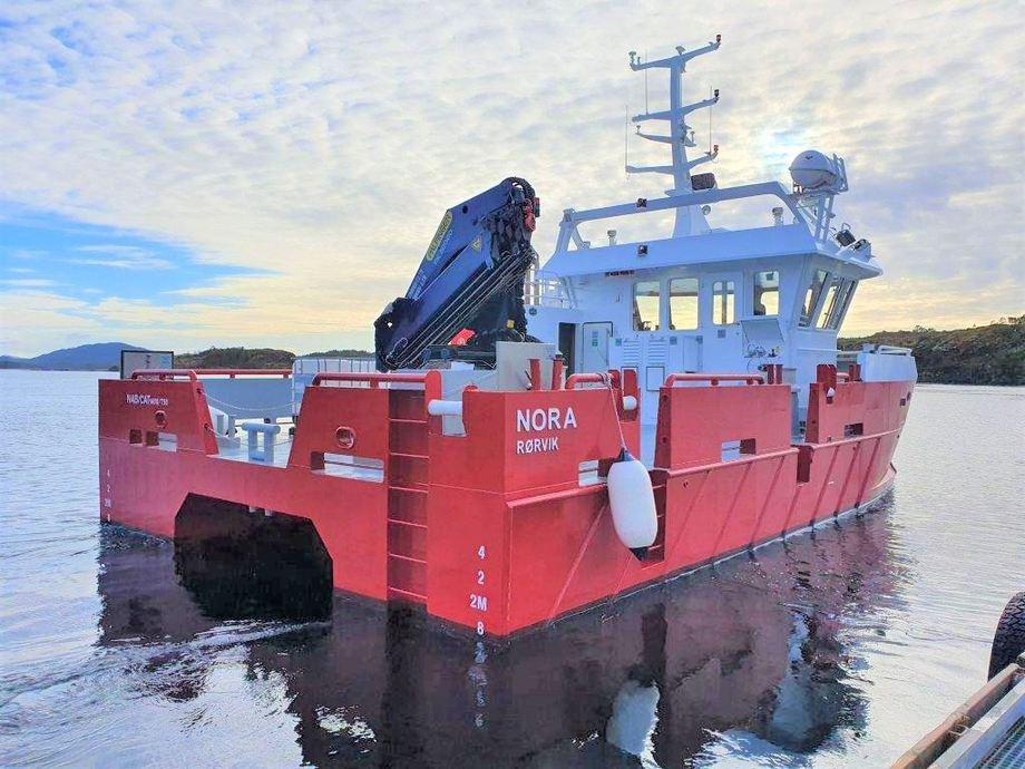 Moen Marin leverte nylig et nytt fartøy til SinkabergHansen. Foto: Moen Marin.