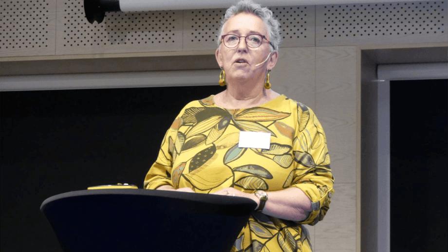 Grethe Adoff har fulgt kveitenæringen tett i flere år og sier situasjonen er bekymringsverdig. Foto: Ole Andreas Drønen.