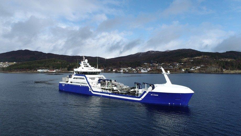 «Ro Vision» er Ship of The Year 2020. Foto: Larsnes Mek