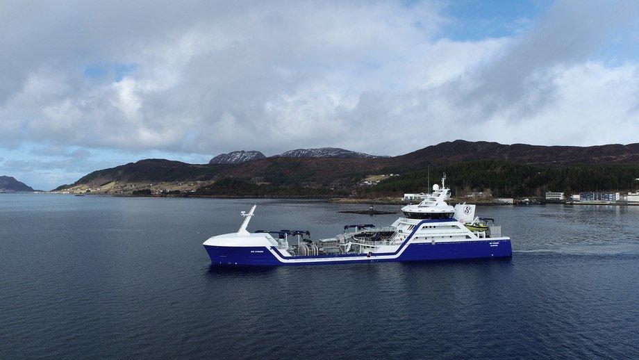 Rostein sier at samarbeidet med GIEK har vært helt nødvendig for at vi fortsatt kan kontrahere båter i Norge. Foto: Larsnes Mek. Verksted.