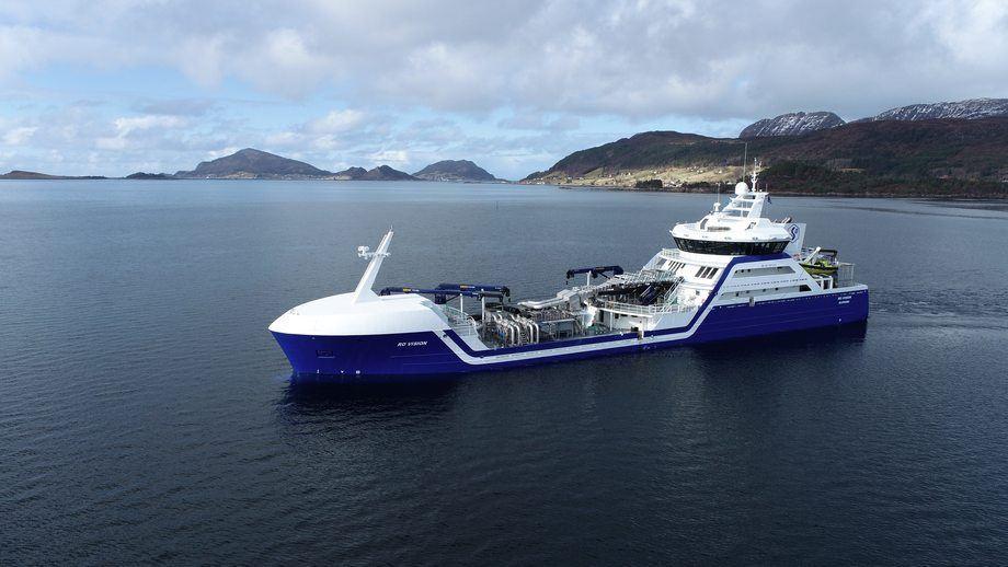 SalMar será la primera compañía de acuicultura en el mundo en adoptar una nueva tecnología para wellboats.