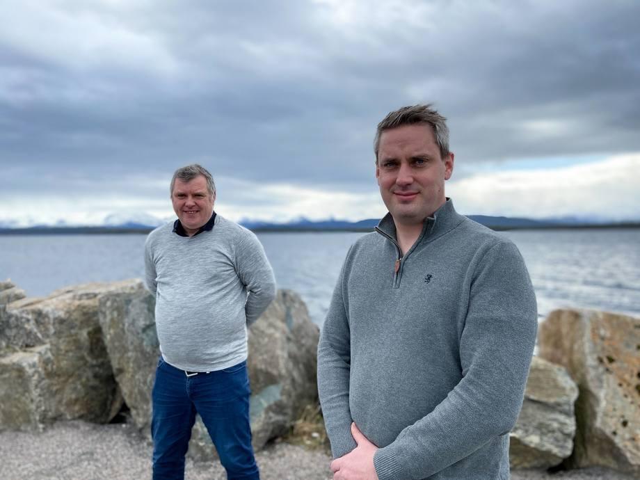 Odd Arne Kristengård, COO de Maritech y Andre Lillebakk, cofundador y CTO de Lillebakk. Imagen: Maritech.