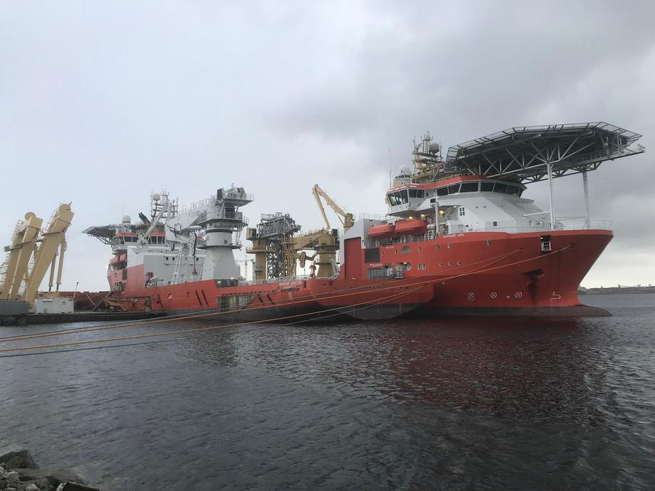 Solstad er reddet. Skal drive videre med 90 skip og må selge eller skrote 37. Foto: Sigbjørn Larsen.