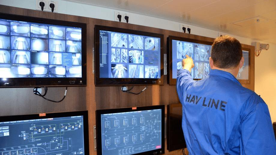 Hav Line og «Norwegian Gannet» får redusert støtte etter at de ikke har klart å levere som planlagt. Foto Ole Andreas Drønen