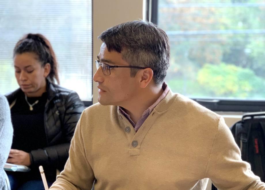 Presidente de la Asociación Regional de Municipalidades, Marcelo Santana. Foto: Municipalidad Río Ibáñez.