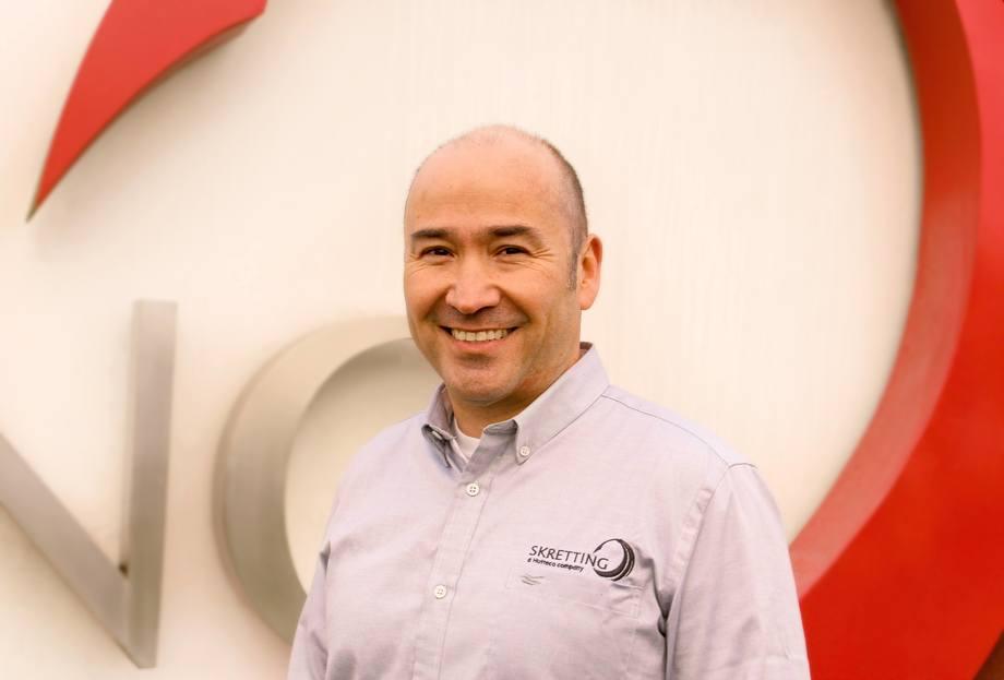 Roberto Wehrt, jefe de Asistencia Técnica Agua Mar de Skretting Chile. Foto: Skretting Chile.
