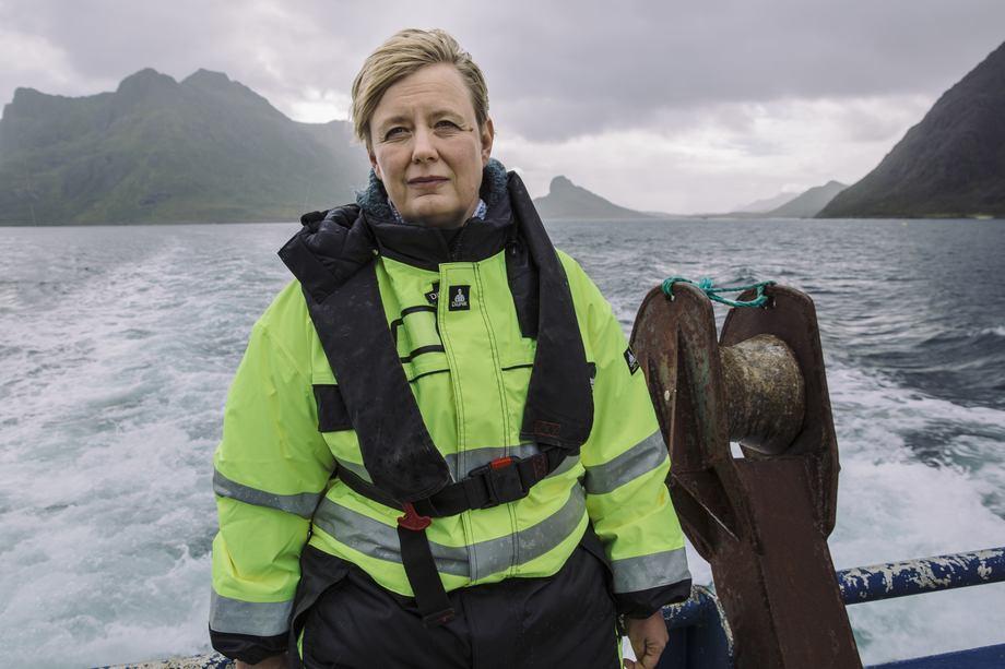 Styremedlem Eva Maria Kristoffersen sier Nordland Akva leverer et solid resultat i 2019 og påpeker god innsats fra ansatte er en av grunnene. Klikk for større foto. Foto: Egil Kristoffersen & Sønner AS.