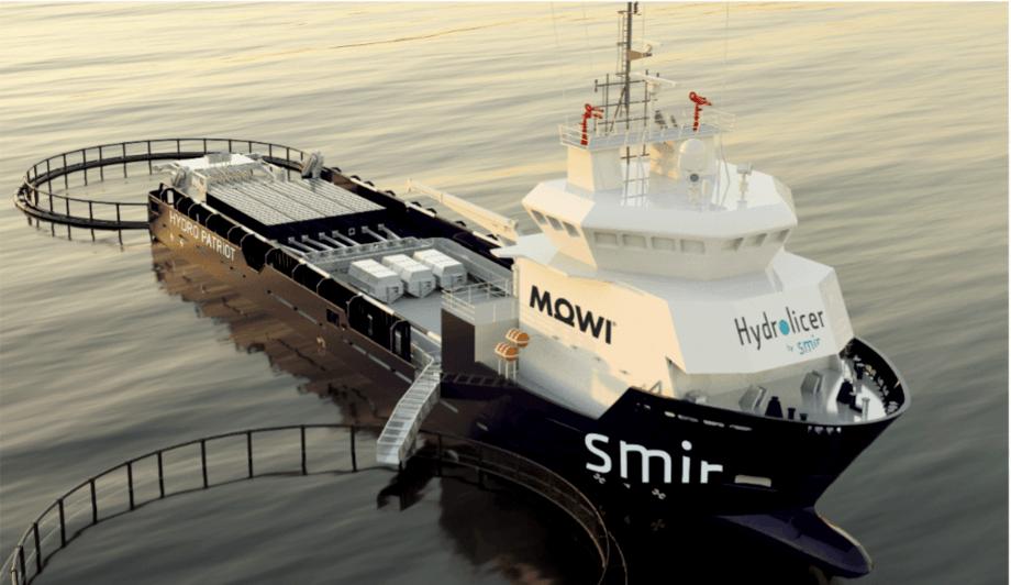 Fartøyet blir 73m langt og 16m bredt. Foto: Smir Group