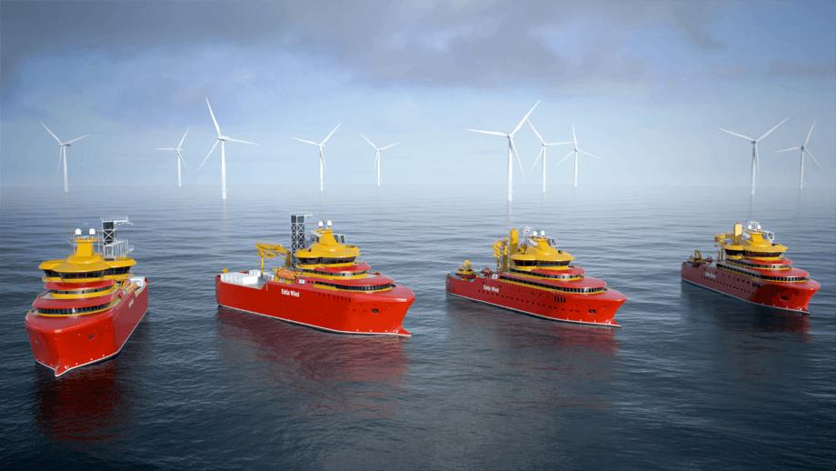 Østensjø har valgt utstyr fra MacGregor på sine nye fartøy som er under bygging. Illustrasjon: Østensjø