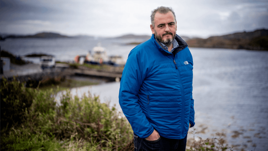 Newly promoted Loch Duart managing director Mark Warrington. Photo: Loch Duart.