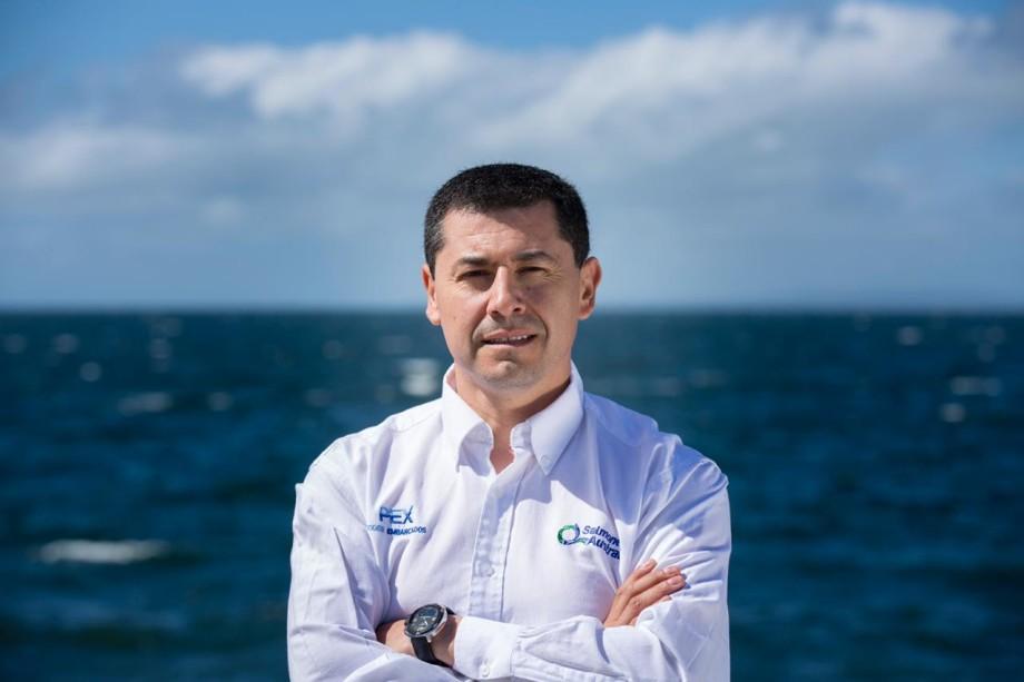 Gerente de Administración y Finanzas de Salmones Austral, Claudio Melgarejo. Foto: Salmones Austral.