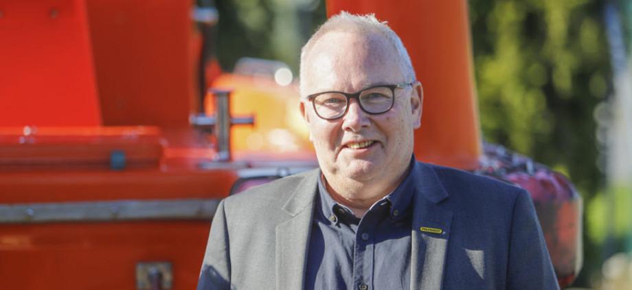 Georg Askvik er ansatt som ny daglig leder ved Palfinger Marine Safety. Foto: Håvard Sætrevik/Grenda