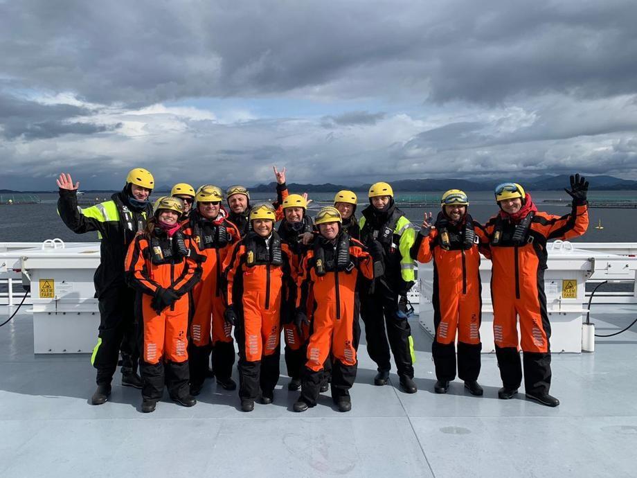 Proveedores bajo el alero de Endeavor en gira a Noruega el año pasado. Foto: Endeavor.