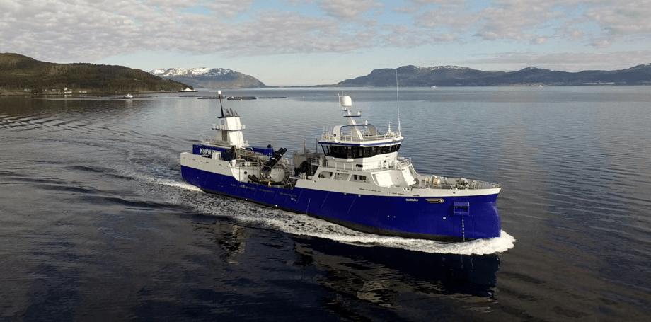 MS «Marsali» er levert til Migdale Transport Ltd. i Skottland. Foto: Aas Mek.