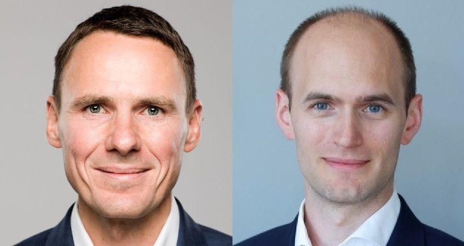 Ole Martin Grimsgrud será el nuevo CFO de Cermaq, mientras que Erlend Reiten se desempeñará como CTO. Imagen: Cermaq.