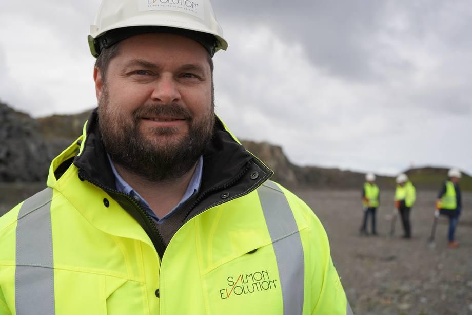 Håkon Andrè Berg blir CEO i Salmon Evolution. Foto: Doxacom