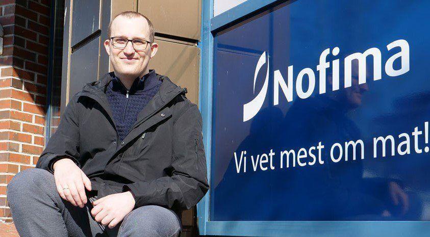 Tomas Nyrud, investigador de Nofima. Foto: Wilhelm Solheim, Nofima.