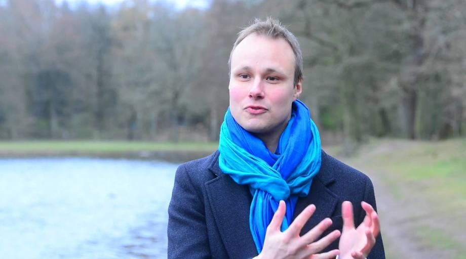 Bendik Søvegjarto: aiming to bring a data driven perspective into production optimisation. Image: Bluegrove video.