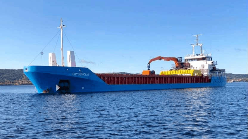 «Kryssholm»kommer til å ha kapasitet på over 3 000 tonn. Foto: Lighthouse Ship Management.