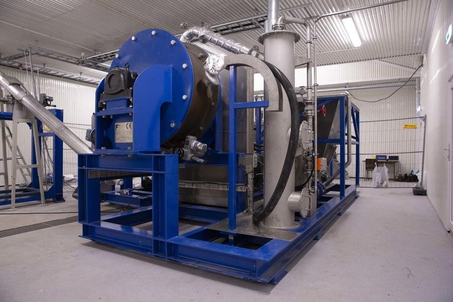 Fjell / Thermtech TMD 250 (Thermal Mechanical Dryer) for fiskeslam, installert hos Osan Settefisk.