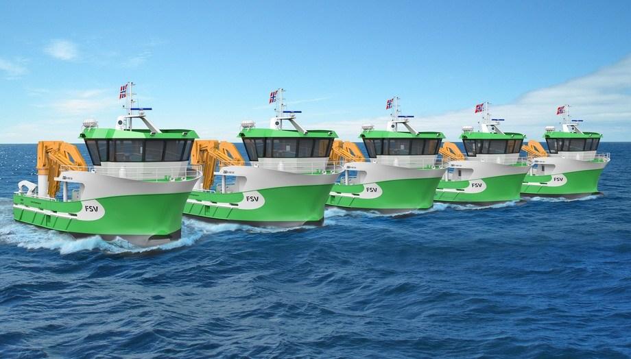 FSV has ordered five multi-purpose boats based on the same hull design. Image: FSV.
