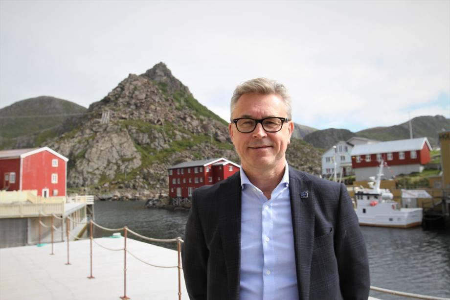 Fiskeri- og sjømatminister Odd Emil Ingebrigtsen. Foto: NFD