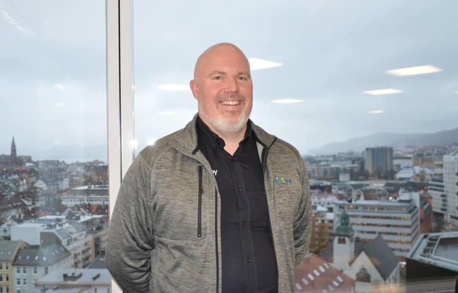 Gründer og daglig leder i Evoy, Leif A.Stavøstrand. Foto: Ole Andreas Drønen