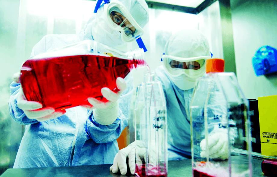 Personal altamente calificado en el centro de fabricación de vacunas de Benchmark será transferido a CGT Catapult. Foto: Benchmark.