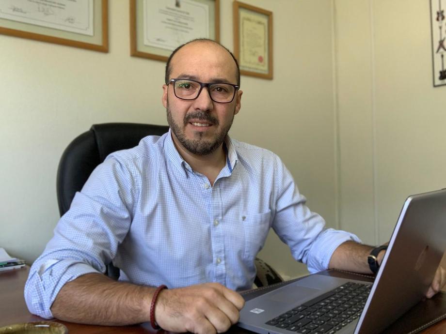 Nuevo gerente de Administración y Finanzas de Pathovet, Roberto Ascui Cáceres. Foto: Cedida.