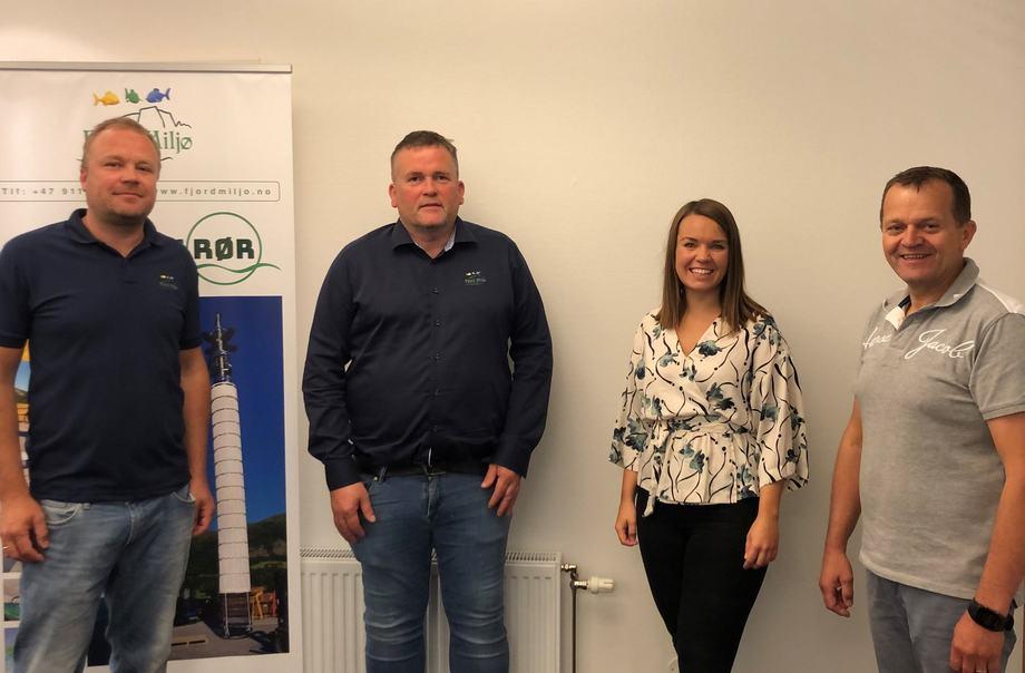 Fjord Miljø og Selstad inngår samarbeid. Foto: Selstad