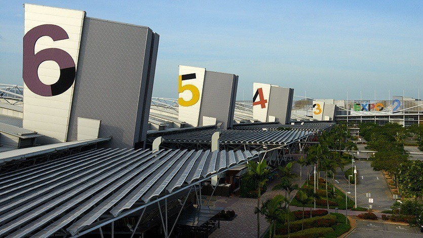 The Singapore EXPO Convention and Exhibition Centre remains as the venue for WA2020, now being held next year. Photo: Visitsingapore.com.